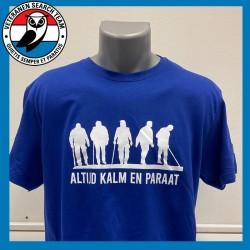 VST T-shirt Linie Blauw