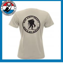 T-Shirt Shè Ain't Dames Sand