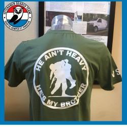 T-Shirt He Ain't Heren Groen