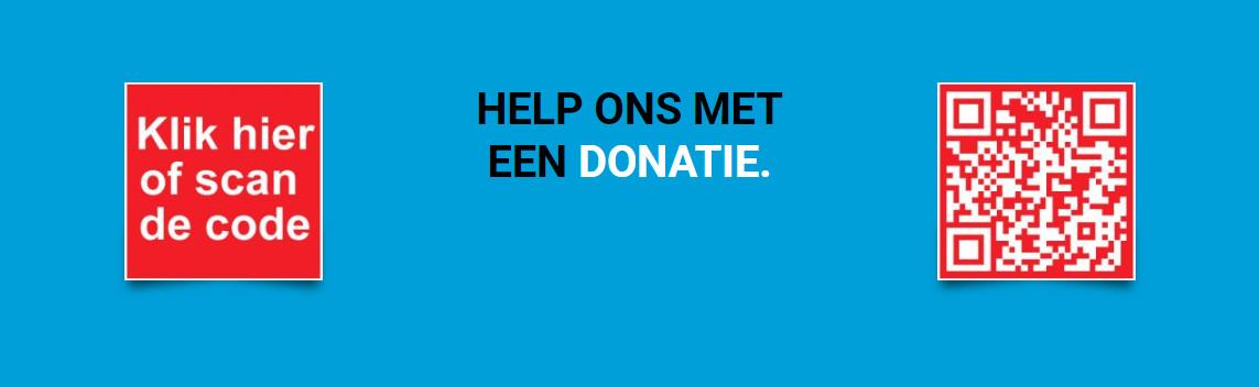 Steun ons met een donatie